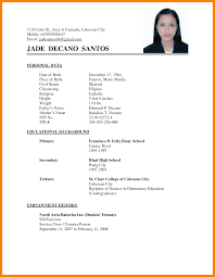 6 Filipino Resume Absence Notes
