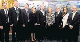 ... (from left): Michael Carty, Paul Keyes, Gerard Mullaney, Rebecca Stevens, Gerard Moore, Mayor of Sligo Rosaleen O'grady, County Manager Hubert Kearns,. - fba83b89-ac1d-484f-84e1-ad1c25e19e63