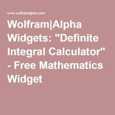 wolfram alpha widgets definite integral calculator free mathematics widget