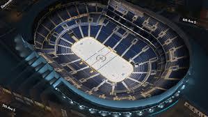 Bridgestone Arena 3d Concert Seating Chart Nashville Predators Virtual Venue By Iomedia