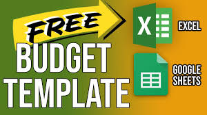 Free Budget Download Household Budget Template Tutorial Free Budget Template Download