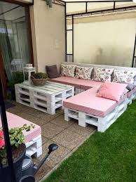 furniture made from skids. you can simple decide retired pallet skids to organize that particular outdoor area just like this diy patio furniture set all made of pallets from
