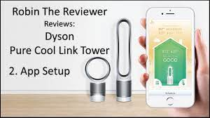 Dyson Pure Cool Link Tower Review - App Setup - YouTube