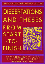 com dissertations and theses from start to finish  dissertations and theses from start to finish psychology and related fields 2nd edition