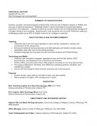 English Teacher Resume Template With Summary Of Creative Versatile ...