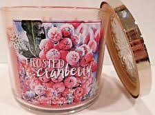 frosted cranberry candle bath and body works bath body works frosted cranberry 3 wick 14 5 oz scented candle