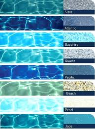 Pool Plaster Color Chart Wooden Pool Plunge Pool In 2019