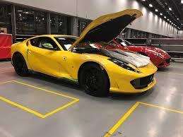 2018 ferrari 812 superfast specs. plain 2018 yellow 812 superfastferrari factoryleaked image6 inside 2018 ferrari superfast specs