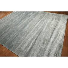 bamboo area rug hand knotted textured grey wool and rayon from bamboo area rug bamboo area