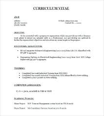 How To Create A Resume Template One Page Resume Template Free Word