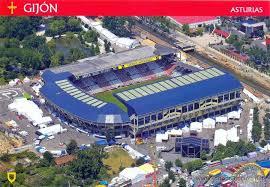 Himno Del Sporting De Gijón En El Molinón SportingReal Madrid Estadio El Molinon Gijon