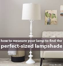 How to measure lamp shade Diameter How To Measure Your Lamp To Find The Perfectsized Lampshade Like That Lamp What Size Lampshade You Need For Your Diy Lighting Project Like