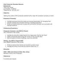 film production assistant resume photographer or editor. Film Production  Assistant Resume Photographer Or Editor. film production assistant ...
