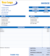 Get Simple Invoice Template Uk Retail PNG