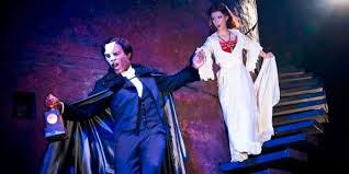 derrick davis katie travis in the phantom of the opera photo by matthew murphy