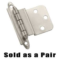 inset cabinet hinges. Compare View Details · Amerock - Non Self-Closing Face Mount Cabinet Hinges Self Closing Inset