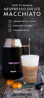 Vertuo pods are available from nespresso only. Looking To Customize Your Daily Nespresso Moment For The Warm Summer Months Try Out This Easy Recipe For Ne Nespresso Recipes Ice Coffee Recipe Coffee Recipes