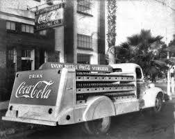 Coca Cola St Petersburg Fl Coca Cola Truck Outside The Bottling Company Saint Petersburg