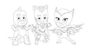 Pj Masks Coloring Pages Printable Coloring Pages For Kids