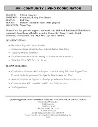 advocacy officer sample resume Example Of Disability Support Worker Resume.
