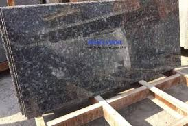 solid surface granite blue pearl natural stone granite countertop with sraight nose bullnose ease