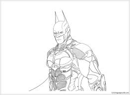 This virtual coloring book provides everything to let your child get carried away choosing colors and creatively painting! Knight Coloring Pages Batman Arkham Lineart New Game Asylum Return Underworld The Series Xbox One Assault On Best Steam 2019 Oguchionyewu