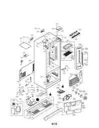 Lg french door refrigerator parts home decor ideas