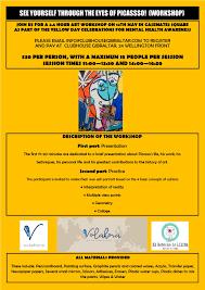 Picasso Workshop Flier V6 The Gibraltar Magazine