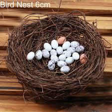 diy miniature fairy garden little bird egg nest