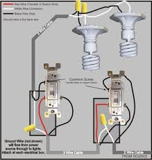 3 way switch wiring diagram in 2019 diy 3 way switch wiring 3 way switch wiring diagram > power to switch then to the other switch then to the lights