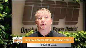 Timothy J. Burke message to OPPD ...