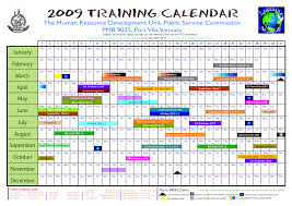 Training Calendar Template Training calendar template ready portray avcpcmae calendars 1