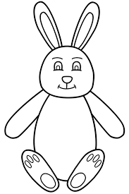 Coloring Pages Easter Bunny Pdf Sheets Free Online Eggs Colouring
