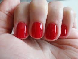 Resultado de imagen de uñas rojas pintadas