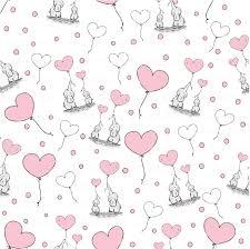Elephant Pattern Inspiration Baby Elephant Pattern 48 Patterns Pink Chevron Stripes Quatrefoil