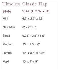 Coco Jumbo Shoes Size Chart Chanel Classic Flap Size Chart Chanel Handbags Chanel Bag