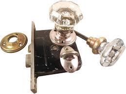 glass door knob with lock bathroom glass door knob lock set the old hardware glass door knob locksets
