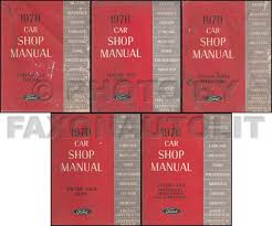 1970 ford thunderbird and lincoln mark iii wiring diagram original related items