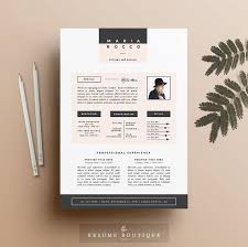Graphic Design Resume Cover Letter Best Of 24pk Resume CV Template Cover Letter For MS Word Instant