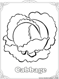 Small Picture Kids Under 7 Vegetables Coloring Pages