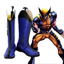 Wolverine Width Chart Us 45 89 10 Off Movie Marvel X Men Superhero Wolverine Cosplay Shoes Hallween Boots Custom Made In Shoes From Novelty Special Use On Aliexpress
