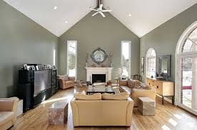 Wall Paint For Living Room Inspiration Painting Room With Great Vaulted Ceilings Modern Home Interior Ideas