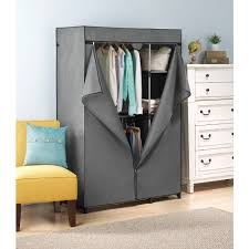 cover only for whitmor double rod closet gray  walmartcom