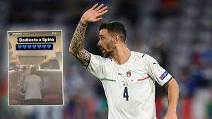Emotionale Szenen im Mannschaftsbus: Italien-Stars feiern verletzten Leonardo  Spinazzola - Sportbuzzer.de