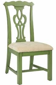 chippendale style side chair 42 h antique sage by home decorators collection kitchen chairsdining room
