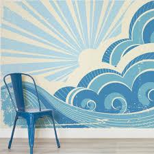 retro surf art retro surf retro wallpaper