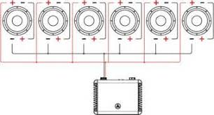 similiar series parallel speaker connection keywords series parallel wiring six speakers on crutchfield sub wiring diagrams