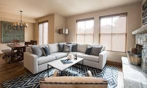 Sun Valley Bachelor Pad transitional-living-room