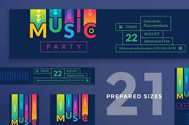 15 Free Facebook Event Cover Templates For Nightclubs And