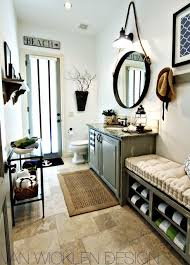 industrial lighting bathroom. round bathroom mirror and industrial lighting h